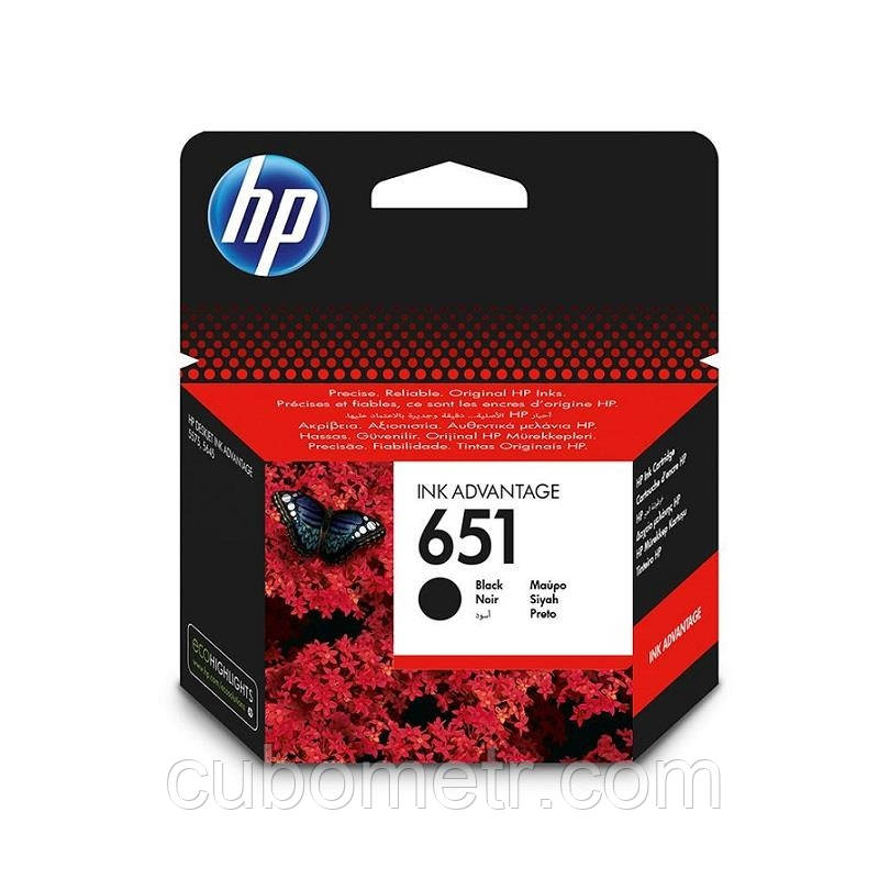 Картридж HP No.651 DJ Ink Advantage 5575/5645/OfficeJet 202 Black (600 стр)