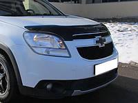 Дефлектор капота (мухобойка) Chevrolet Orlando с 2010 г.в.