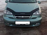 Дефлектор капота (мухобойка) Chevrolet Rezzo с 2004 - 2008 г.в., фото 1