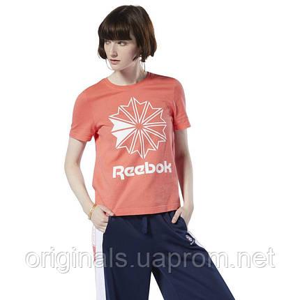 Футболка женская Reebok Classic AC GR TEE DT7223  , фото 2
