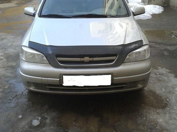 Дефлектор капота (мухобойка) Chevrolet VIVA с 2004 г.в.