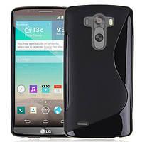 Чохол Wave для / LG G3s Dual D722 D724 Чорний Бампер Накладка, фото 1