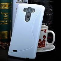 Чехол Wave для LG G3s Dual D722 D724 Белый Бампер Накладка