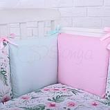 Детский постельный комплект Маленькая Соня Baby Design Premium 6 и 7 элементов, фото 6