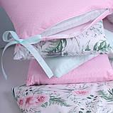 Дитячий постільний комплект Маленька Соня Baby Design Premium 6 і 7 елементів, фото 9