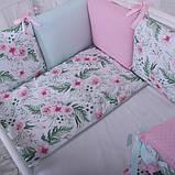 Дитячий постільний комплект Маленька Соня Baby Design Premium 6 і 7 елементів, фото 2