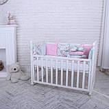 Дитячий постільний комплект Маленька Соня Baby Design Premium 6 і 7 елементів, фото 3