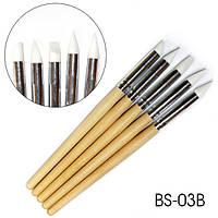 Набор силиконовых кистей для лепки BS-03B