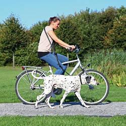 Поводок для поездок на велосипеде, 1-2 м/25 мм