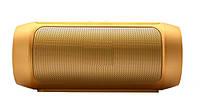 Портативная колонка  bluetooth MP3 плеер Спартак CHARGE2+ Gold