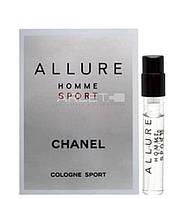 Chanel Allure Homme Sport - туалетная вода (Оригинал) 2ml (пробник)