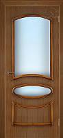 Двери Belwooddoors Карина орех под стекло: полотно 8 + короб + наличники на 1 стор.