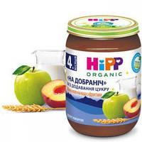 Каша молочная манная HiPP с фруктами «Спокойной ночи» 190г