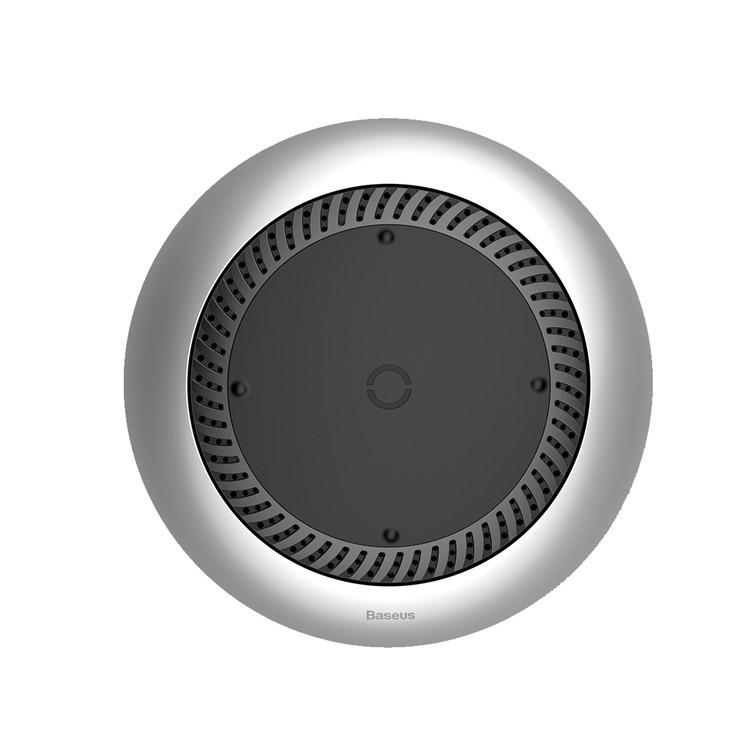 Бездротовий зарядний пристрій BASEUS CCALL-XU01 QI Wireless Charger бездротова зарядка 10W Срібний (SUN2957)
