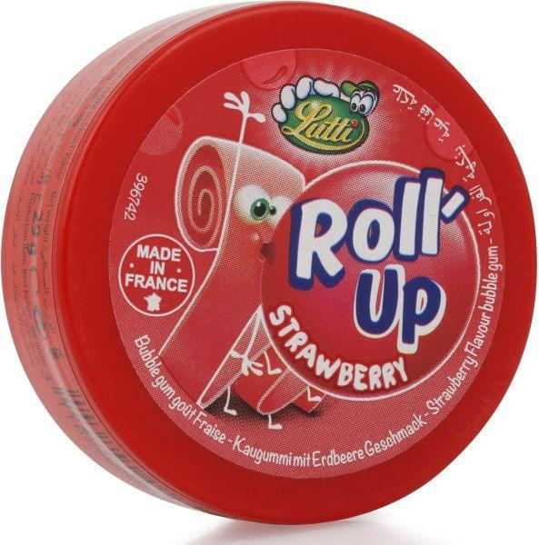 Жвачка Jutti Roll-UP клубника
