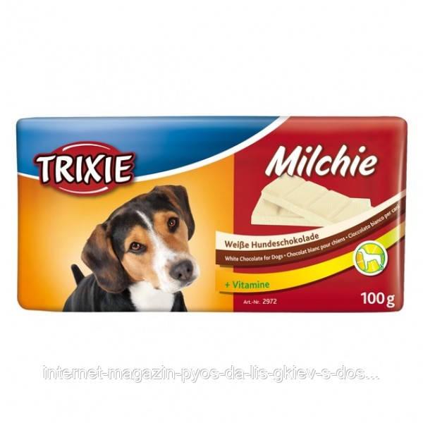 Молочный шоколад для собак, 100 г