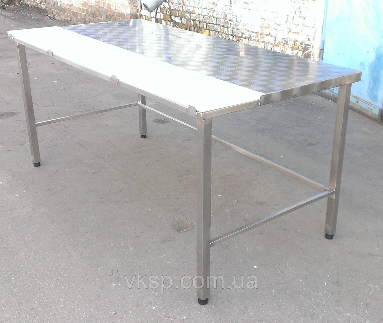 Обвалочный стол усиленный (без борта и полки)