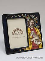 Фарфоровая фоторамка Иисус (Pavone)