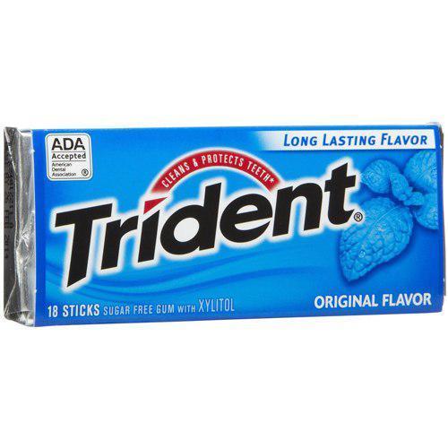 Жевательная резинка Trident Original Mint