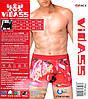 Трусы мужские Валентинки Vidass V2-662. В упаковке 12 штук, ростовка 48,50,52,54., фото 2