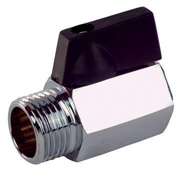 Кран шаровой FADO New Mini PN16 15 1/2'' НВ, KM02 (8008210180224)