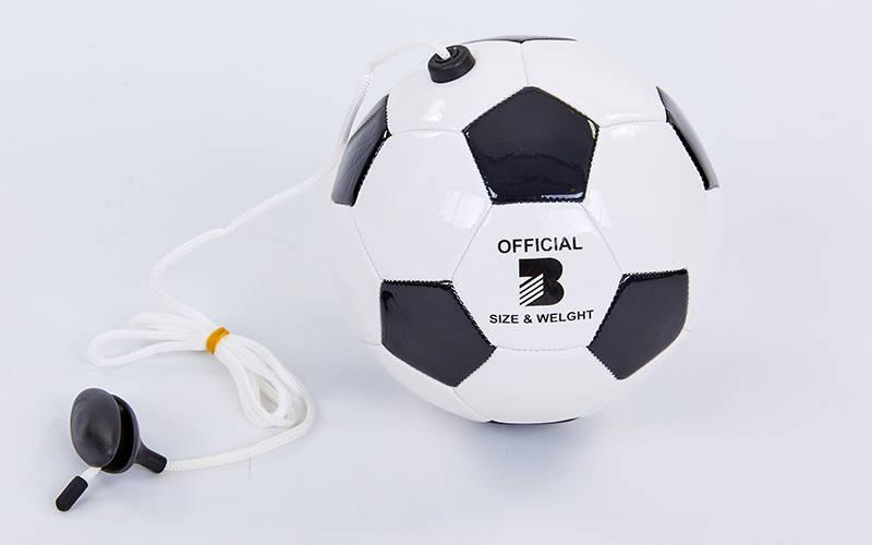 Мяч футбольный тренировочный (тренажер) №3 FB-6883-3