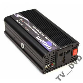 Преобразователь инвертор 12V-220V 1000W USB Акция!