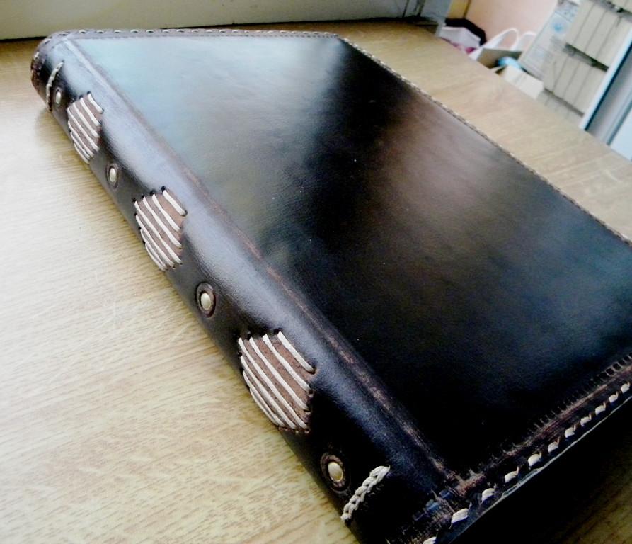 Блокнот кожаный винтажный А4