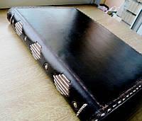 Блокнот кожаный винтажный А4, фото 1