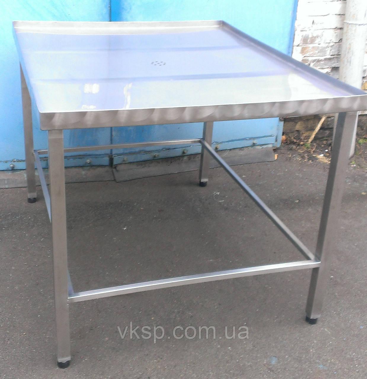 Стол для формовки 1000х1200 из нержавеющей стали