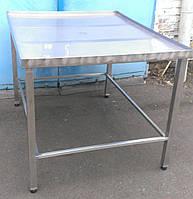 Стол для формовки 1000х1200 из нержавеющей стали, фото 1