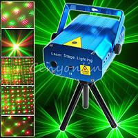 Лазерный проектор D09 лазер шоу Хит ! Акция !!!