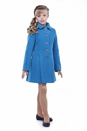 Красивое кашемировое пальто для девочки, фото 2