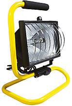 Прожектор TOPEX галогенный переносной, 150Вт, 230 В, 50 Гц, IP54, шнур питания 1.7 м, CE