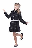 Красивое кашемировое пальто для девочки