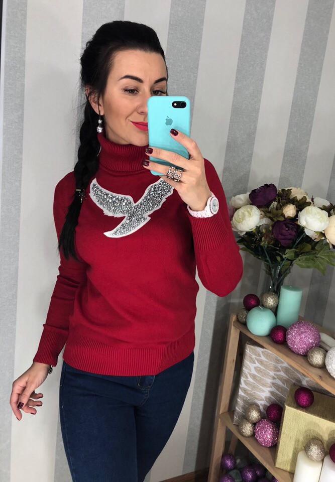Женский шикарный свитер РАЗНЫЕ ЦВЕТА(Фабричный Китай ) Код 294