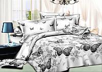 Комплект постельного белья (10139) двуспальное евро 200*220 хлопок TM KRISPOL Украина