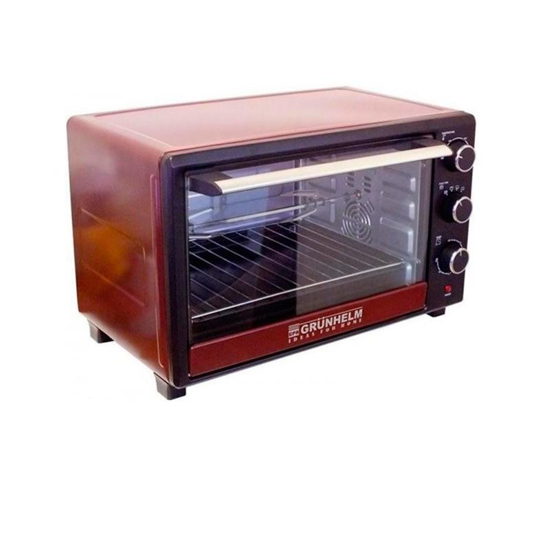 Электрическая духовка настольная Grunhelm GN45ARCL (вертел, конвекция, подсветка, 45 литров)