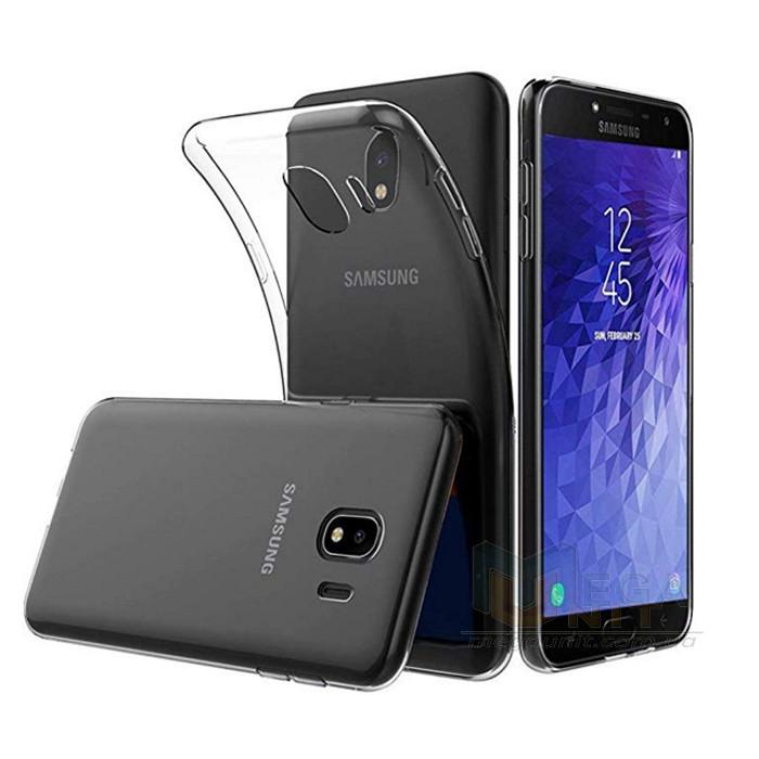Прозрачный силиконовый чехол для Samsung Galaxy J4-2018 (j400)