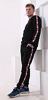 Мужской трикотажный костюм Levis (Левис) черный