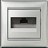 Legrand Valena Розетка компьютерная 1xRJ45 кат.5e 770238 алюминий
