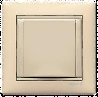 Legrand Valena розетка 2к+3 немецкий стандарт с крышкой слоновая кость774322