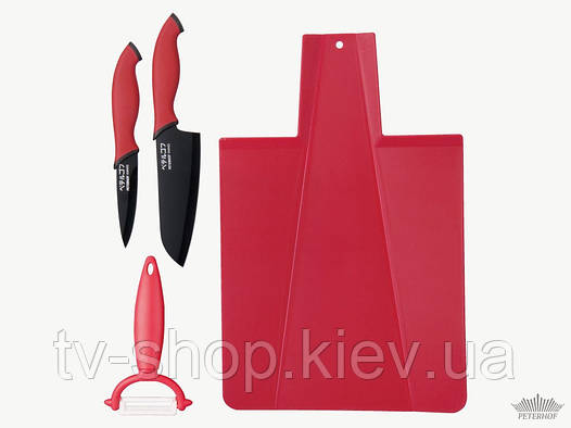 Набор ножей Peterhof PH-22303 (4 предмета)