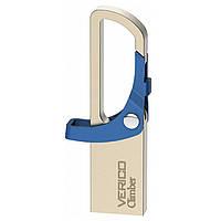 ➘Флешка Verico 16Gb Climber Blue компактная для надежного хранения информации