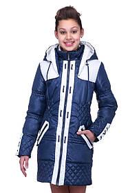 Красивая куртка на девочку демисезонная