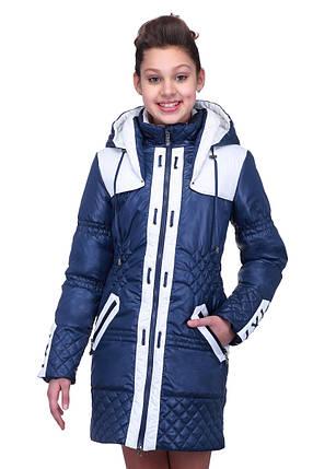 Красивая куртка на девочку демисезонная, фото 2