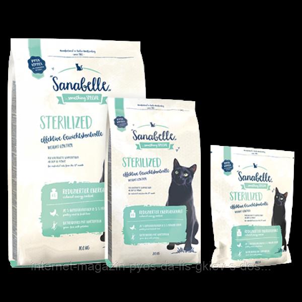 Корм для кошек (Бош) Санабель Sanabelle Sterilized (для стерилизованных кошек), 2 кг