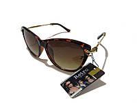 Женские солнцезащитные очки  коричневые, фото 1