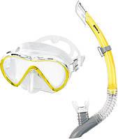 Набор Mares VENTO (маска + трубка) для ныряний (желтый)