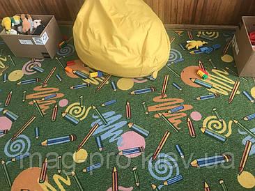 """Детский ковролин для школы и садика """"Карандаши"""""""